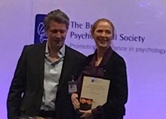 Louise Kovacs awarded the BPS Special Group in Coaching Psychology Research Award