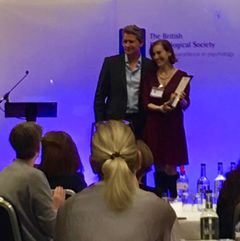 Our Associate Professor Sarah Corrie receives Coaching Psychology Award
