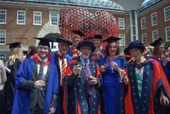 Our first MSc Consciousness, Spirituality and Transpersonal Psychology Graduation
